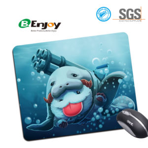Custom Rubber Mousepad with Sublimation for Promotional Gifts pictures & photos