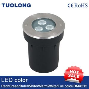 6W Small LED Inground Light Round LED Shoot Light pictures & photos