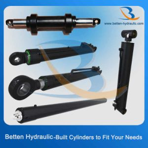 Good Quality Hydraulic Power Forklift Steering Cylinder pictures & photos