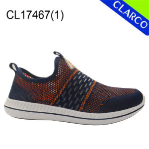 Casual Men Sport Sneaker Shoes with TPR Sole pictures & photos