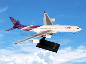 Business Jet Model Thai Airways A340-500 Handmade Airplane Model pictures & photos