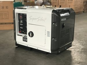OEM 5kVA Diesel Silent Generator Three Phase Wooden Package pictures & photos