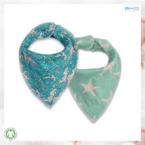 Screen Print Newborn Goods Very Soft Baby Bandana pictures & photos