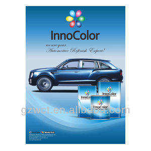 Good Adhesion Auto Reninsh 1k Metallic Basecoat pictures & photos