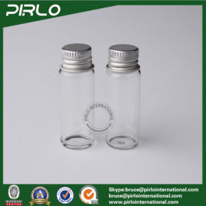 5ml Clear Empty Glass Bottle Aluminum Screw Cap Clear 5ml Pharmaceutical Glass Sample Vial with Aluminum Cap pictures & photos