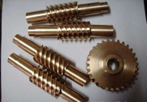 Customized Brass Shaft and Brass Gear for Gear Box pictures & photos