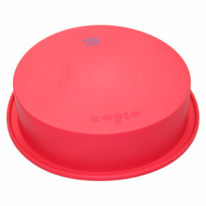 Traditional Basic Cake Plate Round Shaped Food Grade Silicone Baking Mould pictures & photos