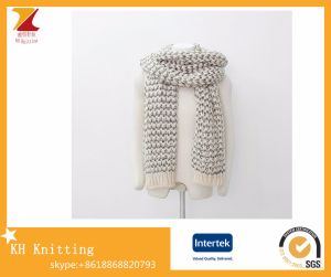 Winter Knitted Mohair Scarf Ladies Long Thick Scarves pictures & photos