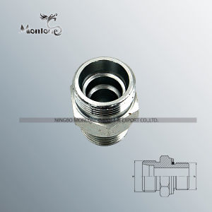 Parker Type Stainless Steel Tube Connector Bsp Hydraulic Hose Fitting pictures & photos