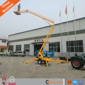 6-18m Articulated Trailer-Mounted Boom Lift Aerial Platform with Ce pictures & photos