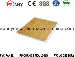 Lamination Groove PVC Ceiling Panel, PVC Wall Panel, PVC Ceiling Tile pictures & photos