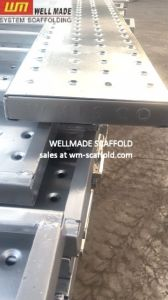 Knpc Construction Formwork Kuwait Type Metal Scaffold Boards pictures & photos