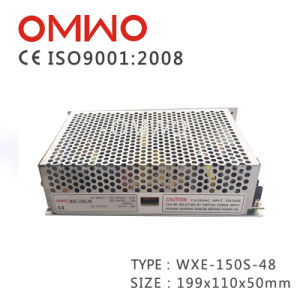 Wxe-150s-48 Single Switching Power Supply pictures & photos