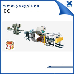Automatic Tomato Tuna Sardine Fish Food Tin Can Production Line pictures & photos
