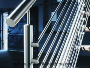 Inox 304/316 Handrail Bar Fittings for Staircase/Balcony/Porch pictures & photos