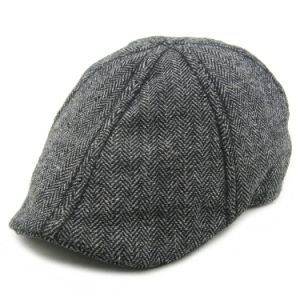 50%Wool 50%Polyester Baker Boy Hat pictures & photos