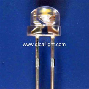 3mm Round Head Super Flux LED (QC-3SF) pictures & photos