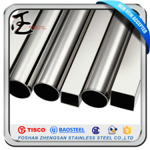Sanitary 304 Polished Stainless Steel Pipe for Stair Handrail pictures & photos