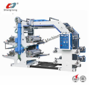 Automatic Flexographic Printing Machine for Packing Material pictures & photos