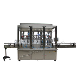 Automatic Bottling Paste Liquid Filling Machine for Cosmetic Daily Chemicals pictures & photos