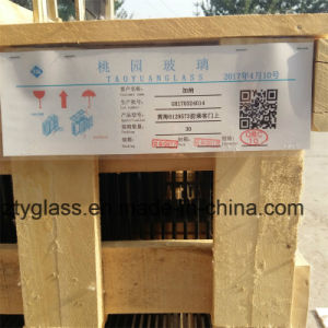 Toughened Front Door Window Glass for Huanghai Dd6129s73 pictures & photos