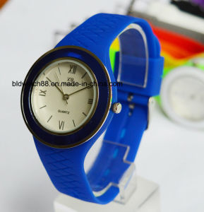 Custom Logo Silicone Wrist Watch for Promotion Gift pictures & photos