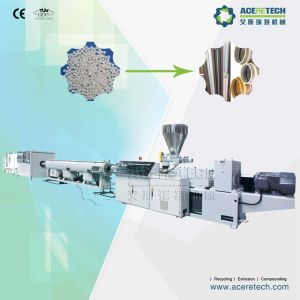 Double Screw Extrusion Machine for PVC Pipes pictures & photos