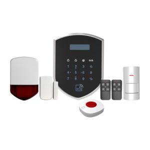 WiFi 3G Network 2g GSM Compatible PSTN Contact ID WiFi Alarm System pictures & photos