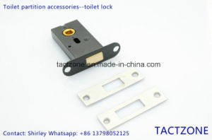 Best Quality Toilet Cubicle Partition Accessories Bathroom Lock pictures & photos