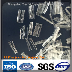 PP Polypropylene Mesh Fiber Chemical Fiber Used in Building Material with Sga, ISO pictures & photos