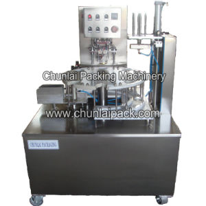 Potato Chips Canister Packaging Machine pictures & photos