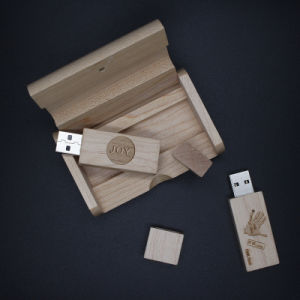 Wholesale Cheap Bulk Wood USB Stick/Flash Memory USB 128MB Disk Wooden USB Flash Drive as Wedding Gifts pictures & photos