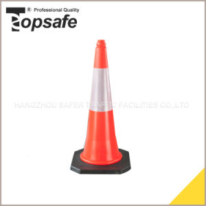 LDPE 75cm Traffic Safety Cone pictures & photos