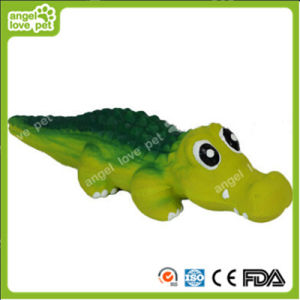 Latex Green Crocodile Pet Dog Toy pictures & photos