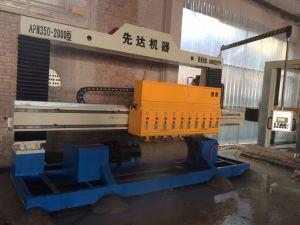 Overseas Service After Sales Polishing Machine/PLC Mable Granite Arc Slab Polishing Machine /Grinding Machine/Stone Process Machine pictures & photos