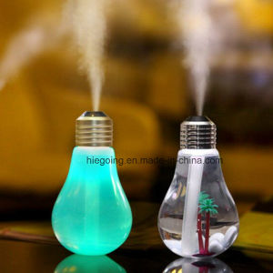 USB Humidifier 400ml Large Capacity Light Bulb Air Humidifier pictures & photos