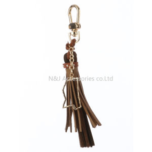 State of Mississippi Charm Faux Leather Tassel Key Chain Ornament Gift pictures & photos
