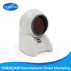 RS232 Desktop Cash Barcode Laser Scanner Serial Interface pictures & photos