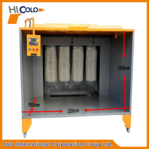 Cl-2315 Manual Powder Painting Booth with Filters pictures & photos