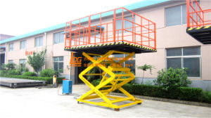 2ton Stationary Hydraulic Scissor Table Lift (SJG2-2.5) pictures & photos