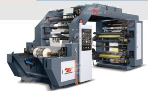 High Speed Two Color Flexo Printing Machine pictures & photos