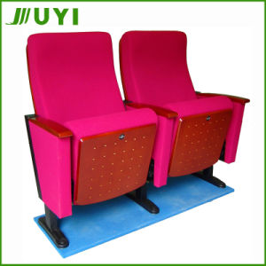 Jy-602m Used Wooden Theater Meeting Room Chair Folding Concert Chair pictures & photos