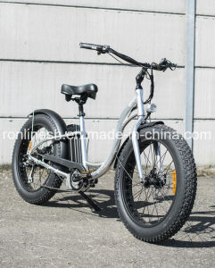 2017 Seaside New 250W/350W/500W Urban City Style Step Through 26X4 Fat Tire Electric Bike/E Bicycle/Pedelec/Electric Sand Bike/E Snow Bike Ce pictures & photos