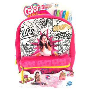 Coloreable Backpack Soy Luna pictures & photos