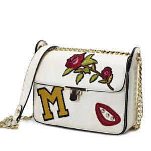 2017 The Most Popular Handbags with Flower Embroidery for Young Girls pictures & photos