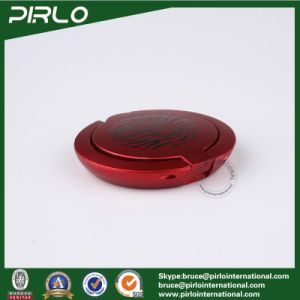 2g Red Flat Plastic Luxury Loose Powder Compact Facial Blush Powder Container pictures & photos