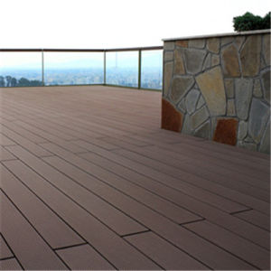 Durable Outdoor WPC Deck for Surrounding Swimming Pool (HY140S25)