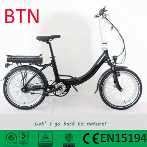 Bafang Max Motor Electric Folding Bike Bike with Torque Sensor pictures & photos