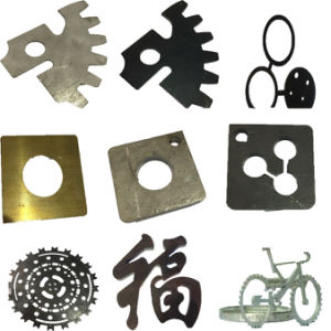 CNC Stainless Steel / Sheet Metal Fiber Laser Cutting pictures & photos