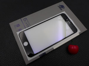 CNC Precise Carved Anti Glare 3D Toughened Glass Screen Protector for iPhone6 Plus